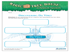 Discovering Da Vinci Worksheet