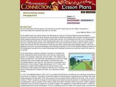 Discovering Linear Perspective Lesson Plan