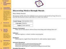 Discovering Mexico through Murals Lesson Plan