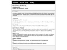 Discovering Our Planets Lesson Plan