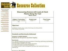 Discovering Science with Lewis & Clark Lesson Plan