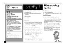Discovering Seeds Lesson Plan