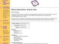 Discovering Shoes, Step by Step Lesson Plan