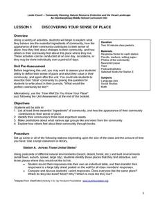 Discovering Your Sense Of Place Lesson Plan