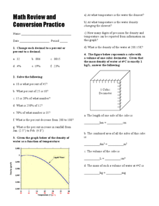 Distance and Word Problems Worksheet