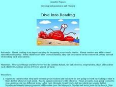 Dive Into Reading Lesson Plan
