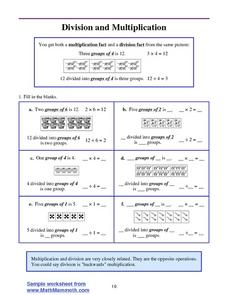 Division and Multiplication Lesson Plan