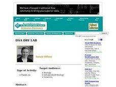 DNA Dry Lab Lesson Plan
