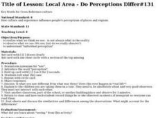 Do Perceptions Differ Lesson Plan