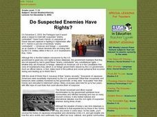 Do Suspected Enemies Have Rights? Lesson Plan