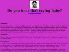 Do You Hear That Crying Baby? Lesson Plan