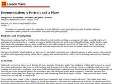 Documentation: A Portrait and a Place Lesson Plan