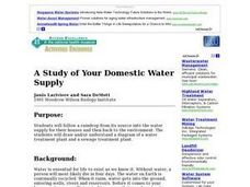 Domestic Water Supply Case Study Lesson Plan