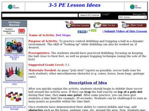 Dot Stops Lesson Plan