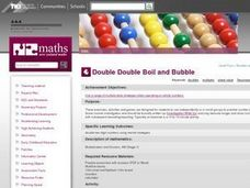Double Double Boil and Bubble Lesson Plan