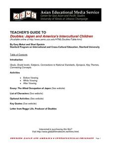 Doubles: Japan and America's Intercultural Children Lesson Plan