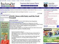 Food Pyramid Quiz Lesson Plan For 3rd 4th Grade Lesson Planet - Www