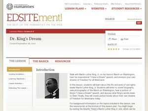 Dr King's Dream Lesson Plan