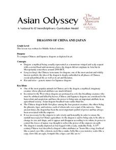 Dragons Of China And Japan Lesson Plan