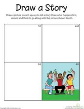 Draw a Story Worksheet