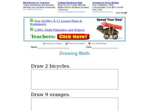 Draw and Count Worksheet