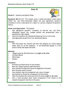 Draw It! Lesson Plan