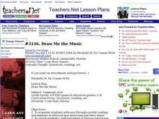 Draw Me the Music Lesson Plan