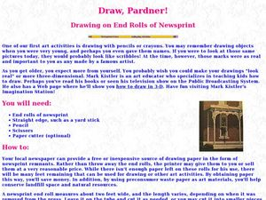 Draw, Pardner! Lesson Plan