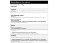 Draw To Scale The E-Z Way Lesson Plan