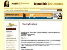 Drawing Emotions Lesson Plan
