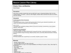 Dreams, Stars, and Beaches Lesson Plan