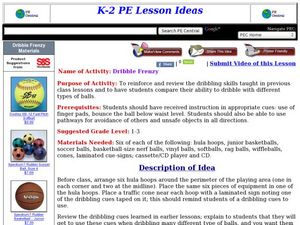 Dribble Frenzy Lesson Plan