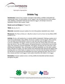 Dribble Tag Lesson Plan