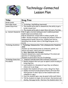 Drug Free Lesson Plan