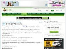 E-Pal Adventure Lesson Plan
