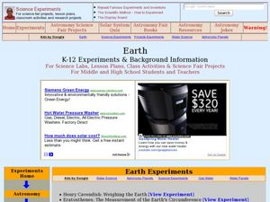 Earth Lesson Plan