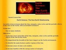 Earth Science:  The Sun-Earth Relationship Lesson Plan