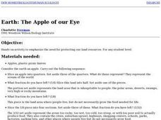 Earth: the Apple of Our Eye Lesson Plan