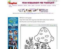 Easter Bunny's House Worksheet