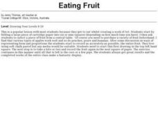 Eating Fruit Lesson Plan