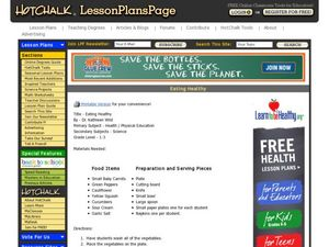 Eating Healthy Lesson Plan