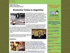 Economic Crisis in Argentina Lesson Plan