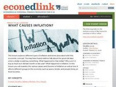Economic Inflation Lesson Plan