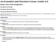 Economics and Literature Lesson Plan