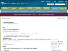 Economics: Interest Types and Savings Lesson Plan
