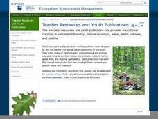 Ecosystem Lesson Plan: Food Chain/Food Web Lesson Plan