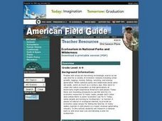 Ecotourism in National Parks and Wilderness Lesson Plan
