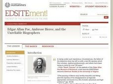 Edgar Allan Poe, Ambrose Bierce, and the Unreliable Biographers Lesson Plan