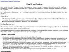 Egg Drop Contest Lesson Plan