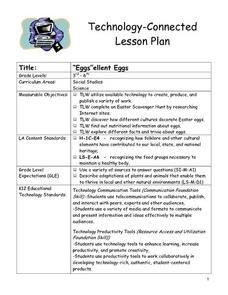 """Eggs""ellent Eggs Lesson Plan"